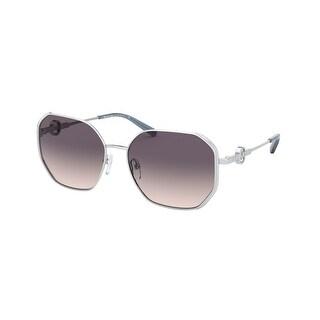 Link to Michael Kors MK1074B 115336 57 Silver Woman Irregular Sunglasses Similar Items in Women's Sunglasses