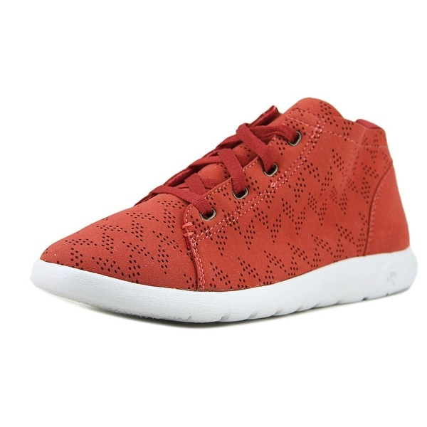 Bearpaw Gracie Women Leather Red Fashion Sneakers
