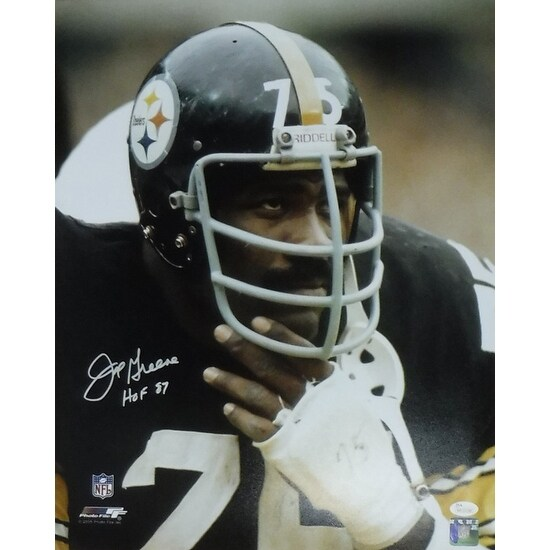 16a3dd06e59 Shop Joe Greene Autographed Pittsburgh Steelers 16x20 Photo Closeup JSA -  Free Shipping Today - Overstock - 13485766