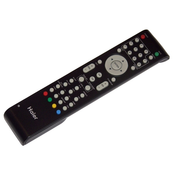 OEM Haier Remote Control Originally Shipped With: L19B1120, L22B1120, L22B1120A, L24B1180, L24B1180A, L24B2120