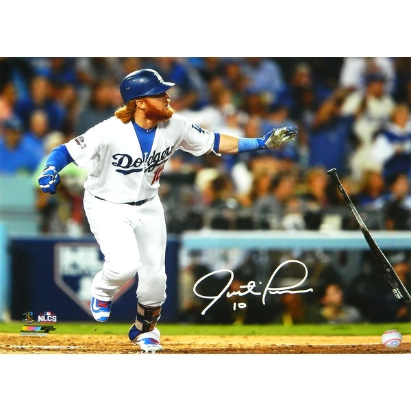193428fc2 Shop Justin Turner Los Angeles Dodgers 2016 NLCS Dropping Bat 16x20 Photo -  Free Shipping Today - Overstock - 25684138
