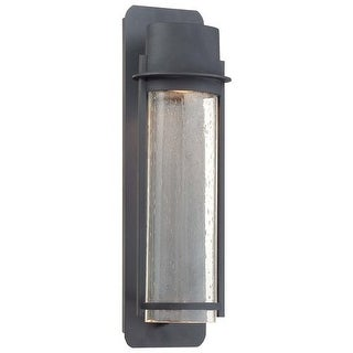 "The Great Outdoors GO 72253 2 Light 23"" Height Dark Sky Compliant Outdoor Wall Sconce from the Artisan Lane Collection - Black"