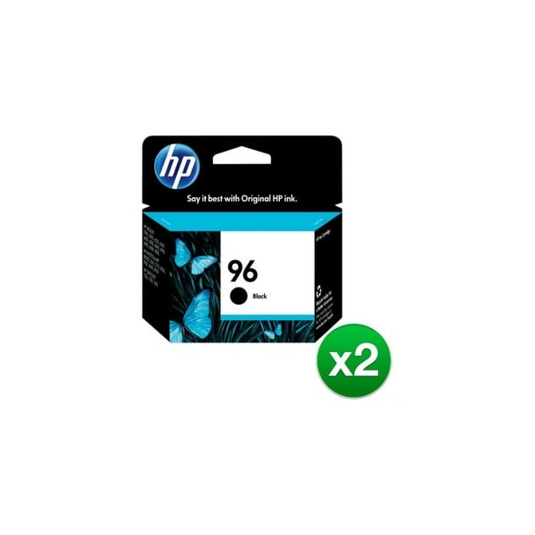 HP 96 Black Original Ink Cartridge (C8767WN) (2-Pack)