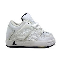 e69a3a79323 Nike Baby Nu Retro 1 Low White/Midnight Navy Toddler 302727-141 Size 2