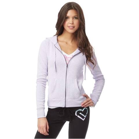 Aeropostale Womens Heathered Fleece Hoodie Sweatshirt