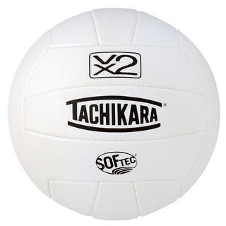 Tachikara SofTec VX2 Volleyball, White