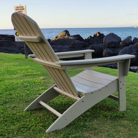 Three Colors HDPE Resin Wood Adirondack Chair