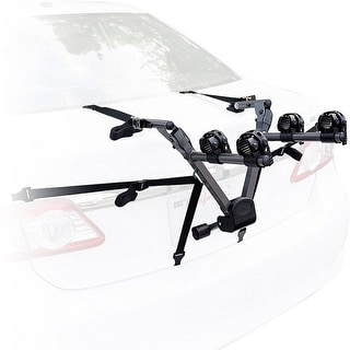 Bell Overpass 200/ 300 Compact Folding Trunk Bike Rack, Black