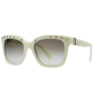 Valentino V660/S 103 Ivory Square Sunglasses