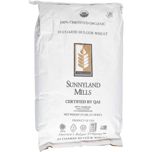 Bulk Grains Bulgur - Organic - Coarse Ground - 25 lbs
