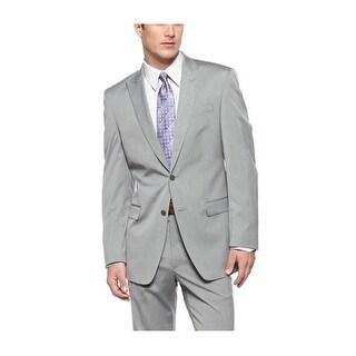 Calvin Klein CK Extreme Slim Fit Grey One Button Sportcoat 43 Regular 43R