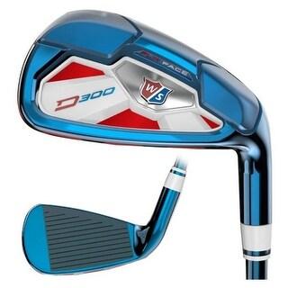 Wilson Staff PVD D300 Golf Iron Set Clubs Golfing US Open 4-PW GW WGR163030R