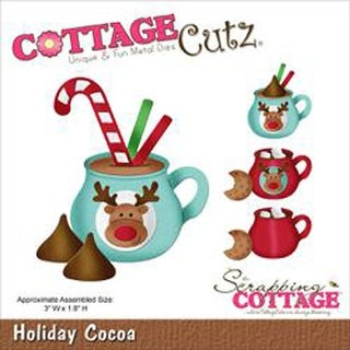 """Cottagecutz Die-Holiday Cocoa 3""""X1.8"""""""