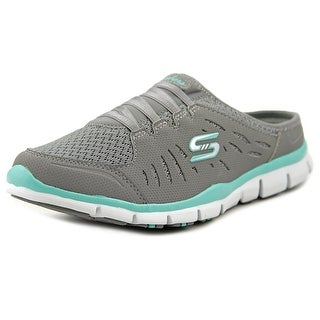 Skechers Gratis No Limits Women Round Toe Synthetic Gray Clogs