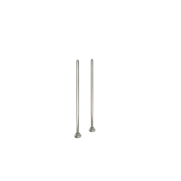 """Moen TS25105 36-3/8"""" Floor Mounted Tub Filler Risers from the Weymouth Collection - N/A"""