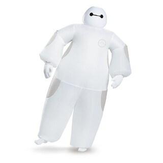 Disney Big Hero 6 White Baymax Inflatable Adult Costume Standard