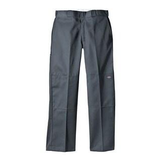 "Dickies Men's Loose Fit Double Knee Work Pant 34"" Inseam Charcoal"