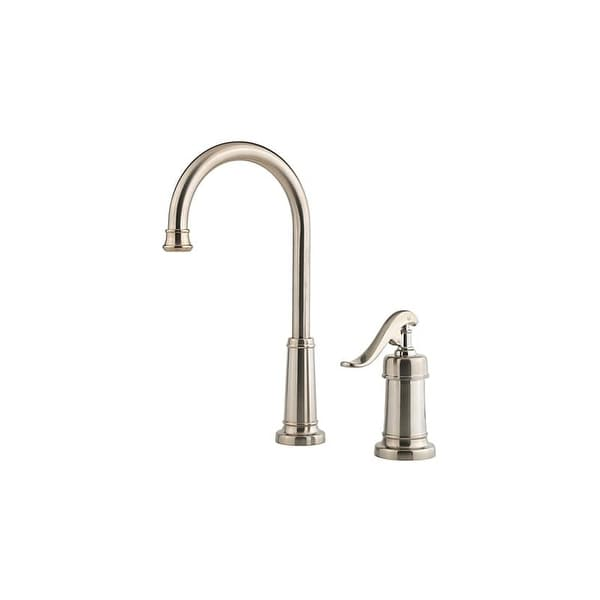 Pfister LG72 YP2 Ashfield Gooseneck Kitchen Faucet With Pforever Seal  Technology