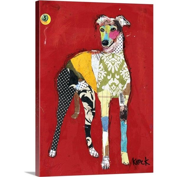 """""""Greyhound II"""" Canvas Wall Art"""
