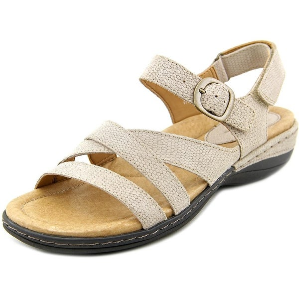 Earth Aster Women D Open-Toe Leather Slingback Sandal