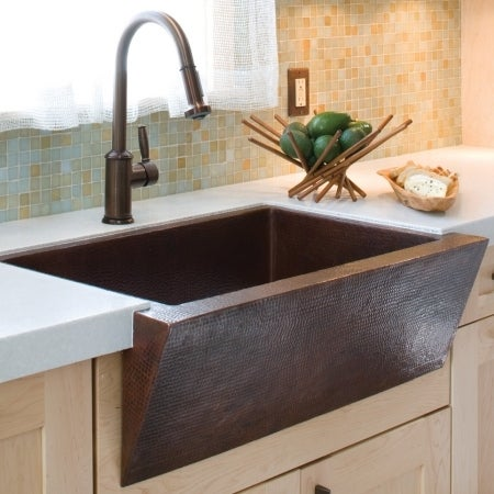Native Trails Cpk590 Zuma Copper Kitchen Sink Brushed Nickel Free Shipping Today 27377019