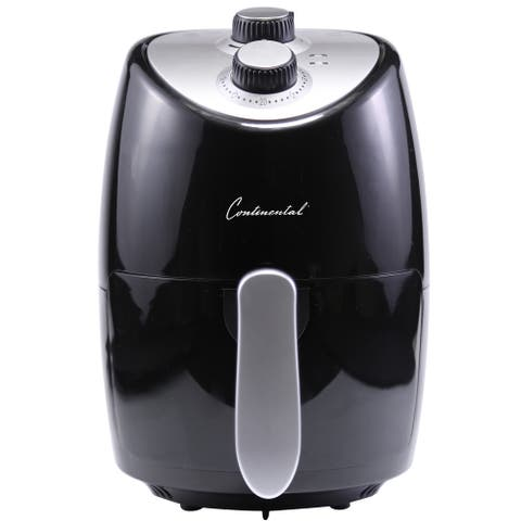 Continental Electric 2.0 Liter Air Fryer Black