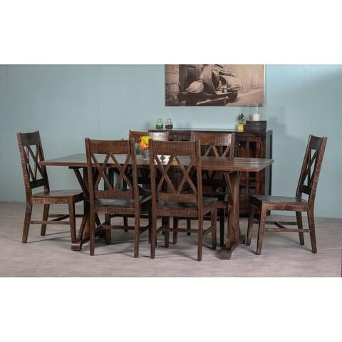 "Nairobi Wooden Dining Table 76"""