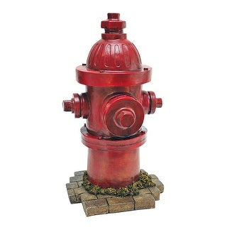 Link to Design Toscano Dog's Second Best Friend Fire Hydrant Statue Similar Items in Collectibles