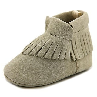Baby Deer 4902 Infant Round Toe Synthetic Tan Bootie