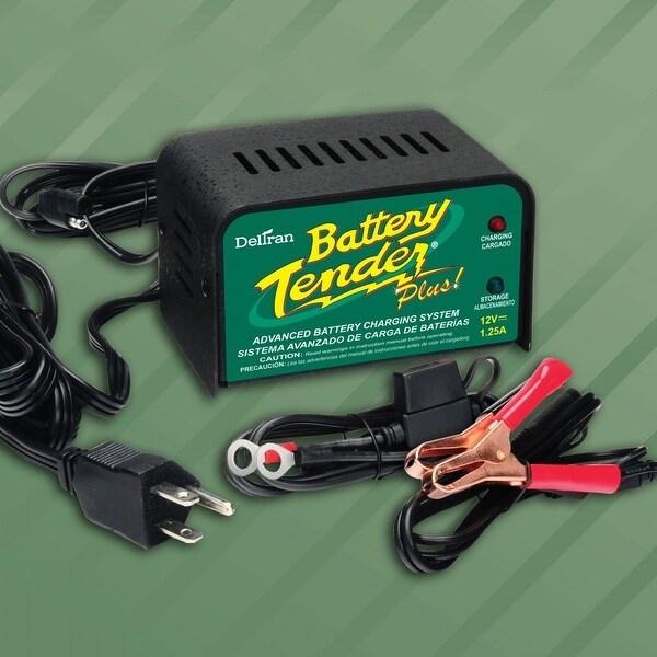 Deltran Battery Tender 021-0128 Plus Battery Charger, 1.25 Amp