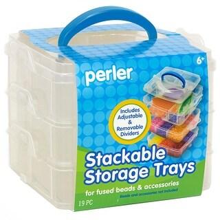 Perler Square Stackable Storage-
