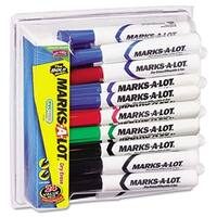 Desk Style Dry Erase Markers  Chisel Tip  Assorted  24-Pack