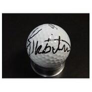 Signed Triplett Kirk Titleist Golf Ball autographed