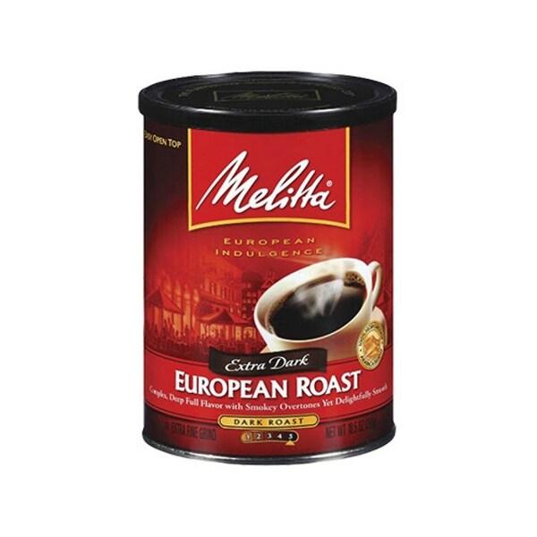Melitta 60142 European Dark Roast (Single Pack) European Dark Roast Coffee