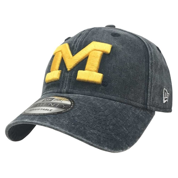 premium selection 12adb f638f ... greece new era michigan wolverines baseball cap hat ncaa rugged wash  9twenty 80470074 9af85 e8411