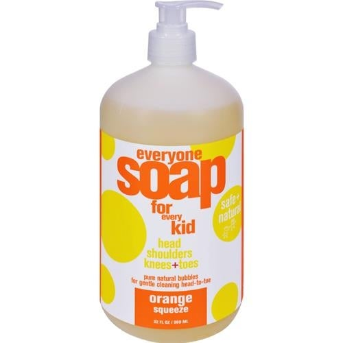 EO Products - Everyone Soap For Kids - Orange Squeeze ( 2 - 32 FZ)