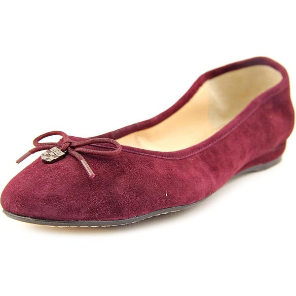 Vince Camuto Ria Round Toe Suede Flats