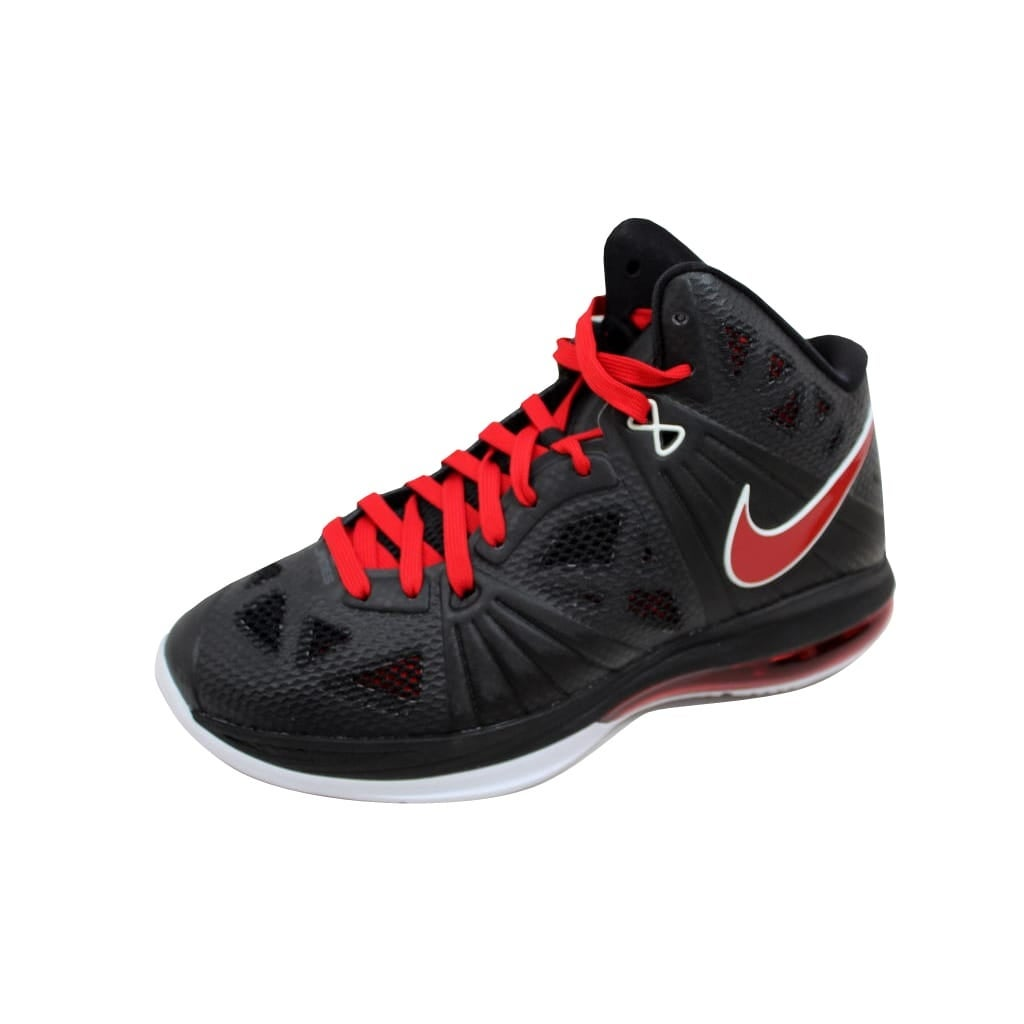 9cccef0615a4 Shop Nike Men s Lebron VIII 8 PS Black Sport Red-White Miami Heat 441946-001  Size 8 - Free Shipping Today - Overstock - 20138960