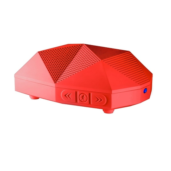 Outdoor Tech Turtle Shell 2.0 Portable Wireless Boombox Speaker Red
