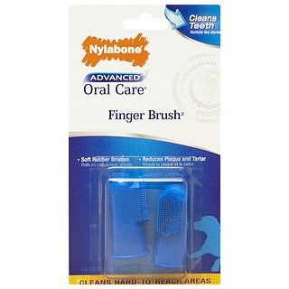 Nylabone Advanced Oral Care Finger Brush 2 count