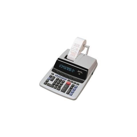 Sharp Two-Color Printing Calculator Printing Calculator