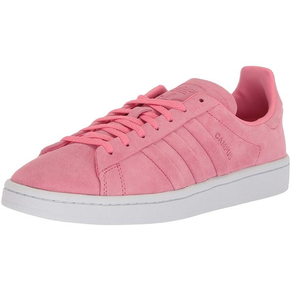 detailed look f8656 60438 Adidas Womens campus stitch and turn Suede Low Top Lace Up Fashion Sneakers