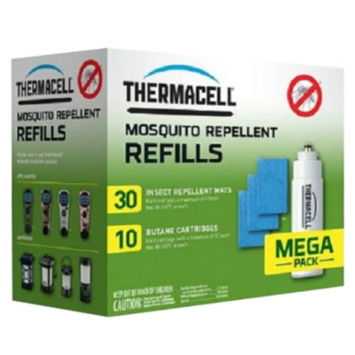 4 ThermaCell Mosquito Repeller Refills 48 Hour Value Pack 12 Mats Cartridges