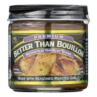 Better Than Bouillon Seasoning - Roasted Garlic Base - Case of 8 - 3.5 oz.