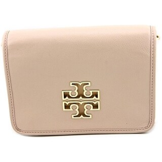 Tory Burch Britten Square Women Leather Messenger - Pink