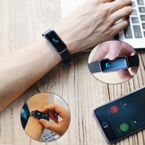 Slim Fit Smart Watch and Heart Rate and Activity Monitor