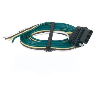 Hopkins 48035 4-Wire Flat Trailer Connector, 48""