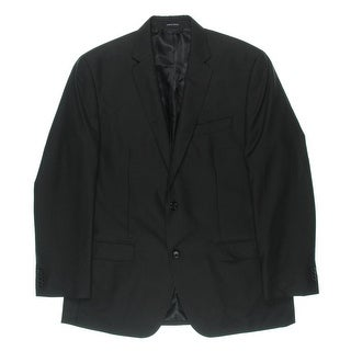 Sean John Mens Pinstripe Lined Two-Button Blazer