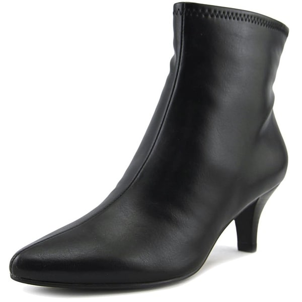 Impo Neil Women Pointed Toe Synthetic Black Ankle Boot