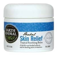 Earth Animal Herbal Skin Relief Topical Balm for Dogs & Cats 2oz.